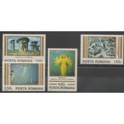 Romania - 1982 - Nb 3400/3403 - Paintings