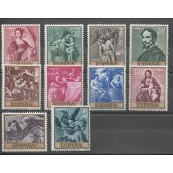 Spain - 1969 - Nb 1561/1570 - Paintings