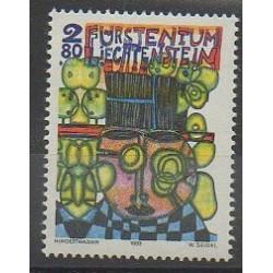 Liechtenstein - 1993 - No 1001 - Peinture