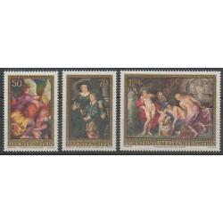 Liechtenstein - 1976 - No 596/598 - Peinture