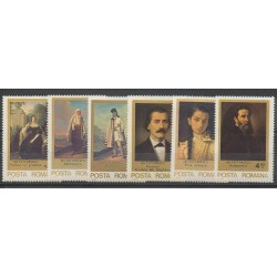 Roumanie - 1979 - No 3169/3174 - Peinture