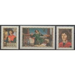 Mongolie - 1973 - No 667/669 - Peinture