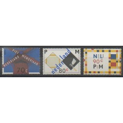 Pays-Bas - 1994 - No 1462/1464 - Peinture