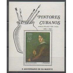 Cuba - 1978 - No BF55 - Peinture
