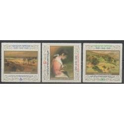 Bulgarie - 1982 - No 2686/2688 - Peinture