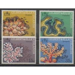Kiribati - Gilbert and Ellice - 1972 - Nb 194/197 - Sea animals
