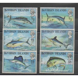 Virgin (Islands) - 1972 - Nb 241/246 - Sea animals