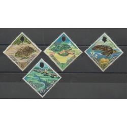 Caïmans (Iles) - 1971 - No 285/288 - Reptiles