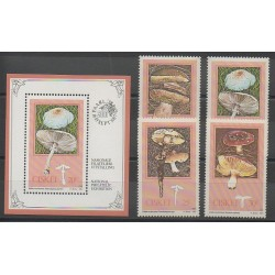 Afrique du Sud - Ciskey - 1987 - No 110/113 - BF3 - Champignons