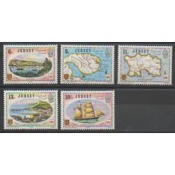 Jersey - 1978 - Nb 174/178 - Boats