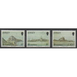 Jersey - 1978 - No 171/173 - Monuments