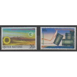 Nations Unies (ONU - New-York) - 1991 - No 593/594 - Environnement