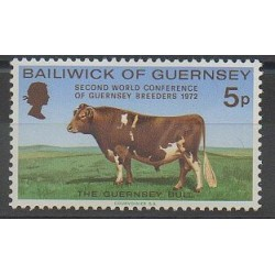 Guernsey - 1972 - Nb 61 - Mamals