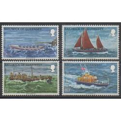 Guernsey - 1974 - Nb 84/87 - Boats