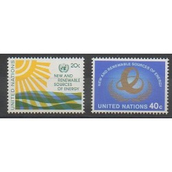 Nations Unies (ONU - New-York) - 1981 - No 339/340 - Environnement