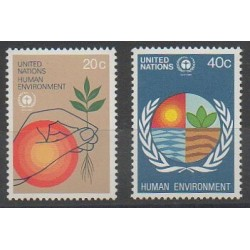 Nations Unies (ONU - New-York) - 1982 - No 362/363 - Environnement