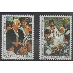 Nations Unies (ONU - New-York) - 1993 - No 626/627 - Santé ou Croix-Rouge