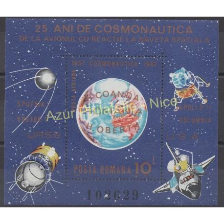 Romania - 1983 - Nb BF 158 - Space