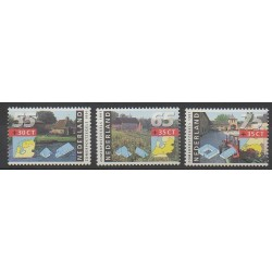 Pays-Bas - 1991 - No 1373/1375 - Monuments