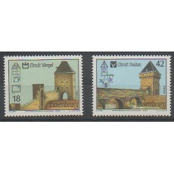 Luxembourg - 2000 - No 1462/1463 - Monuments