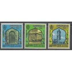 Libya - 1973 - Nb 476/478 - Monuments