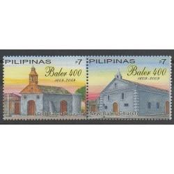 Philippines - 2009 - No 3366/3367 - Églises