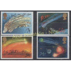 Great Britain - 1986 - Nb 1214/1217 - Space