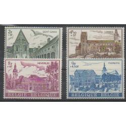 Belgique - 1973 - No 1652/1655 - Églises