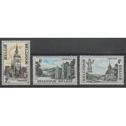 Belgique - 1974 - No 1729/1731 - Églises