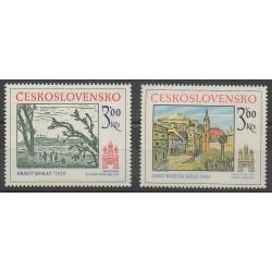 Tchécoslovaquie - 1978 - No 2275/2276 - Peinture