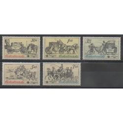 Tchécoslovaquie - 1981 - No 2423/2427 - Transports