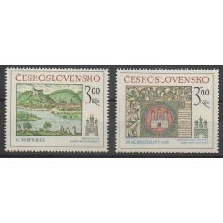 Tchécoslovaquie - 1977 - No 2251/2252 - Peinture