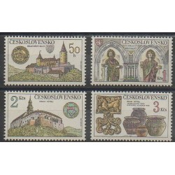 Czechoslovakia - 1982 - Nb 2491/2494 - Monuments - Art
