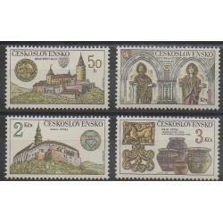 Tchécoslovaquie - 1982 - No 2491/2494 - Monuments - Art