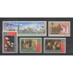 Belgium - 1993 - Nb 2495/2499 - Europe