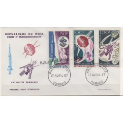 Mali - 1967 - Nb PA 42/ PA 44 - Space - Used