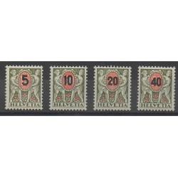 Suisse - 1937 - No T63/T66