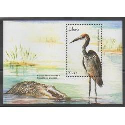 Liberia - 2001 - Nb BF416 - Birds