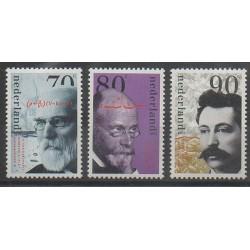 Pays-Bas - 1993 - No 1449/1451 - Sciences et Techniques - Célébrités