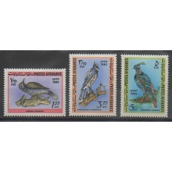 Afghanistan - 1965 - No 786/788 - Oiseaux