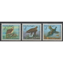 Afghanistan - 1970 - No 926/928 - Oiseaux