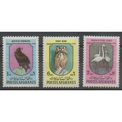 Afghanistan - 1968 - No 865/867 - Oiseaux