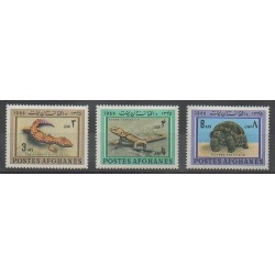 Afghanistan - 1966 - No 804/806 - Reptiles