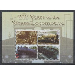 Guyana - 2004 - No 5773J/5773M - Chemins de fer