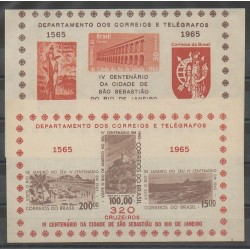 Brésil - 1965 - No BF14/BF15 - Monuments
