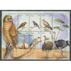 Liberia - 2001 - No 3437/3442 - Oiseaux