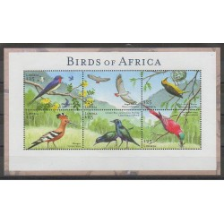 Liberia - 2001 - Nb 3425/3430 - Birds