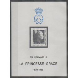 Monaco - Blocks and sheets - 1983 - Nb BF24 - Royalty