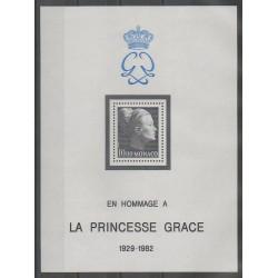 Monaco - Blocs et feuillets - 1983 - No BF24 - Royauté