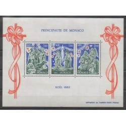 Monaco - Blocks and sheets - 1982 - Nb BF23 - Christmas